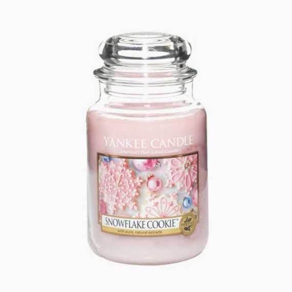 Yankee Candle Snowflake Cookie Bougie Jarre