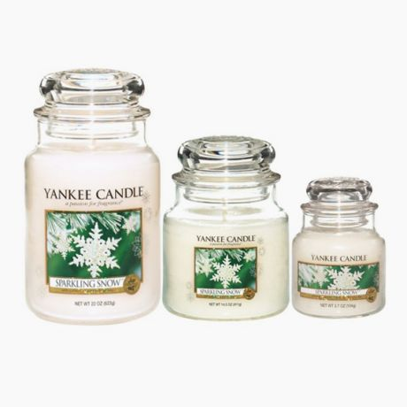 Yankee Candle Sparkling Snow Bougie Jarre