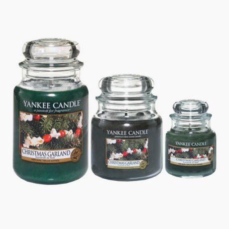 Yankee Candle Christmas Garland Bougie Jarre