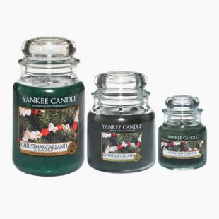Yankee Candle Christmas Garland Bougie Jarre