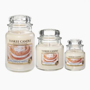 Yankee Candle Gingerbread Mapple Bougie Jarre