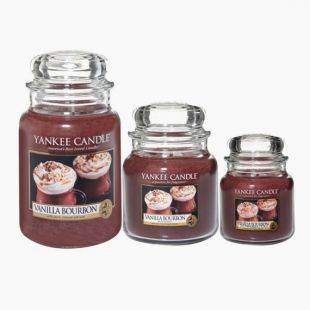 Yankee Candle Vanilla Bourbon Jarre