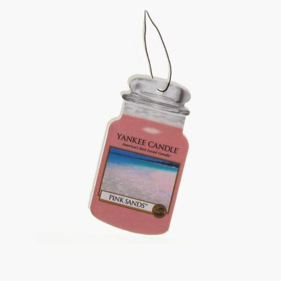 Yankee Candle Pink Sand Classic Car Jar