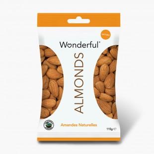 Wonderful Almonds Amandes Naturelles