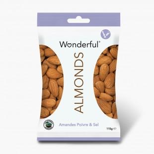Wonderful Almonds Amandes Poivre & Sel