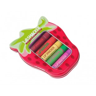 Lip Smacker Strawberry Lover's Tin box
