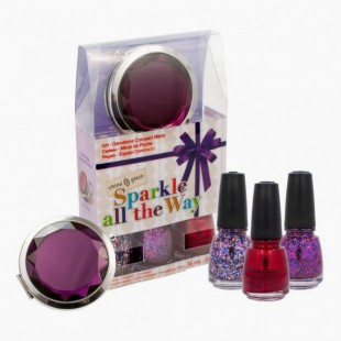 Coffret Sparkle All The Way China Glaze