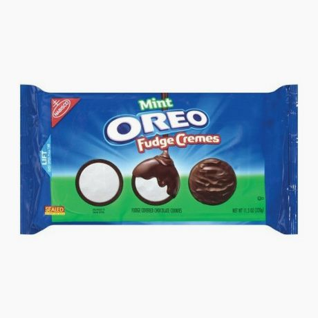 Oreo Mint Fudge Cremes