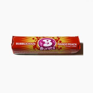 Bubblicious  Bursts Mango Peach