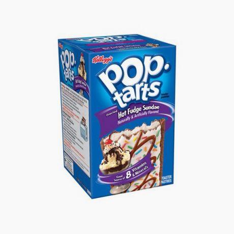 Pop Tarts Hot Fudge Sundae