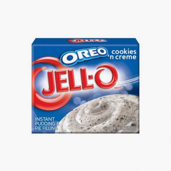 Jell-O Pudding Oreo Cookies and Creme