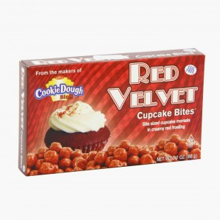 Red Velvet Coucie Dough Bites