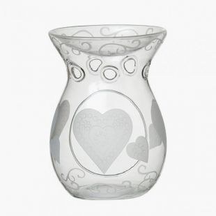 Bruleur Etched Hearts