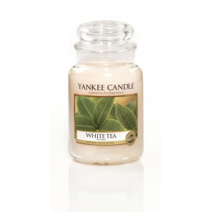 Yankee Candle Pure Essence White Tea Bougies Jarres
