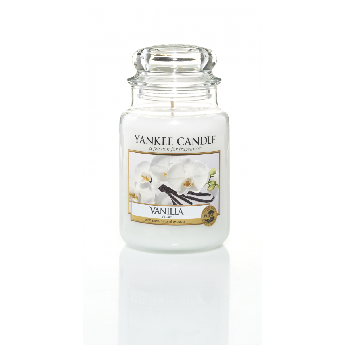 pure essence vanilla yankee candle bougies jarres. Black Bedroom Furniture Sets. Home Design Ideas