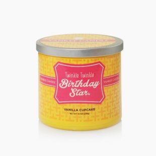 Twinkle Twinkle Birthday Star - Vanilla Cupcake