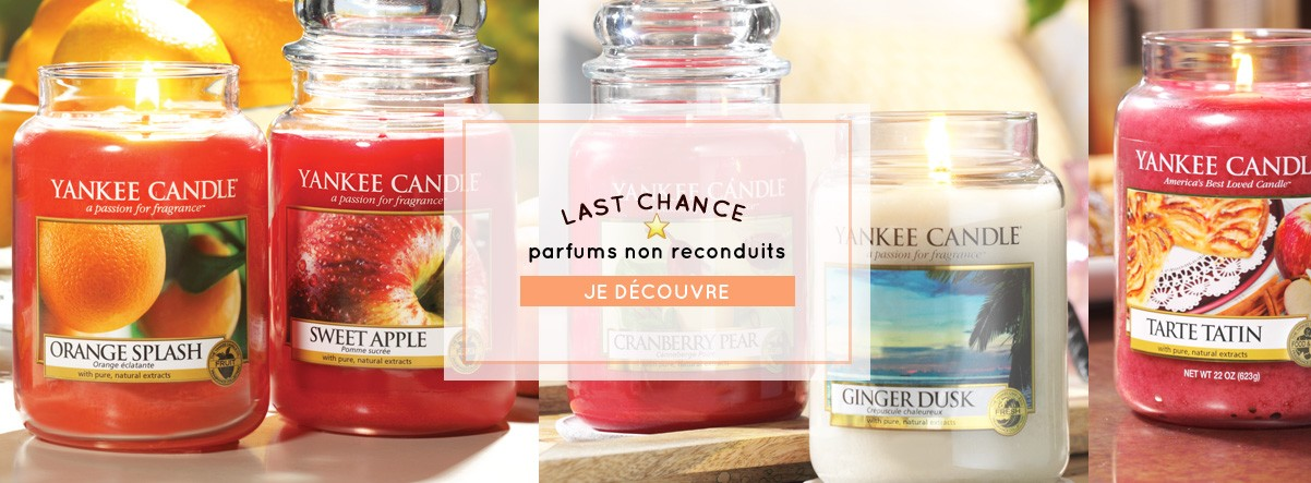 parfums non reconduis 2018 yankee  candle