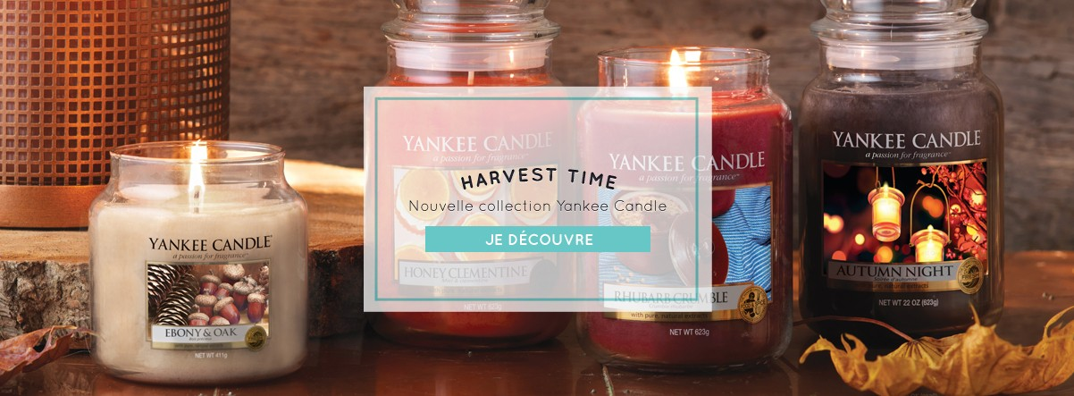 Collection Harvest Time Bougie Automne Yankee Candle