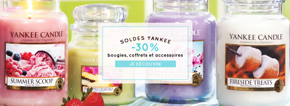 promotions bougies yankee candle pas cher soldes