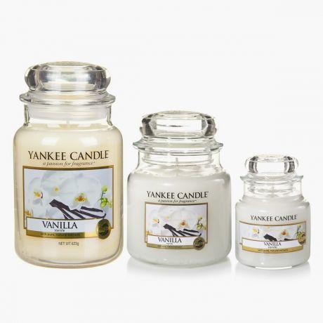 Vanilla Bougies Jarres