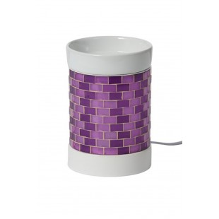 Yankee Candle Glitter Glow Violet Bruleur Electrique