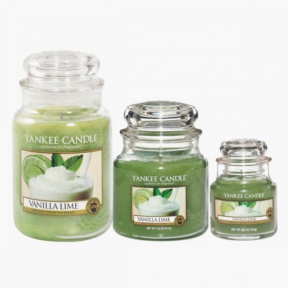 Vanilla Lime Bougies Jarres