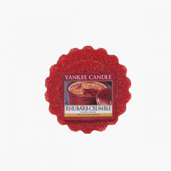 Rhubarb Crumble Tartelette