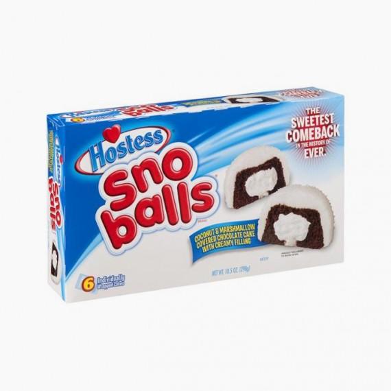 Sno Balls Hostess