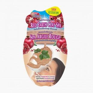 Masque Tissu Argile Rouge