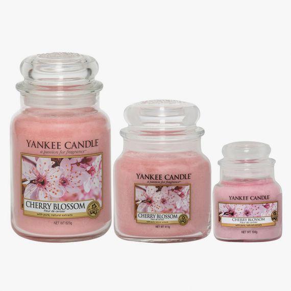 Cherry Blossom Bougies Jarres