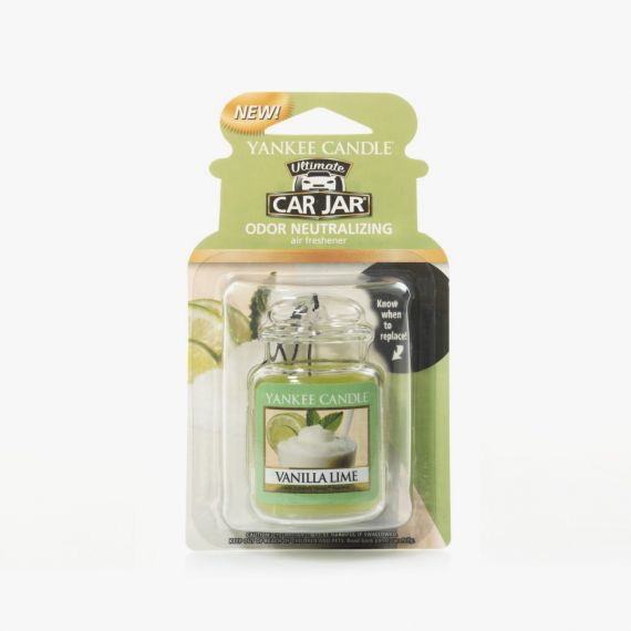 Vanilla Lime Ultimate Car Jar