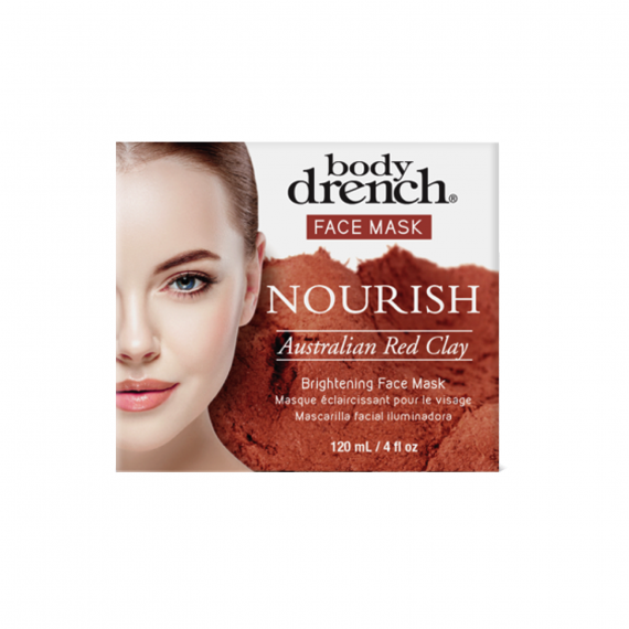 Australian Red Clay Brightening Face Mask