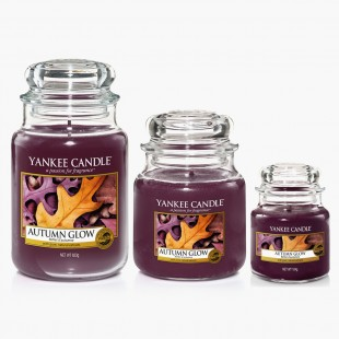Yankee Candle Autumn Glow Bougies Jarres Collection Fall In Love