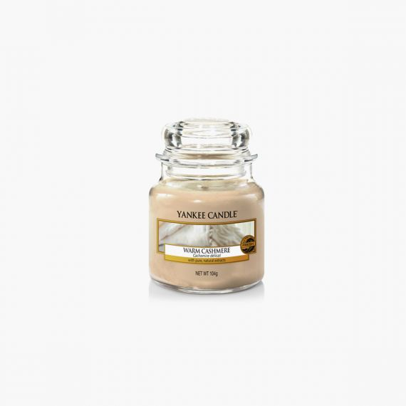 Warm Cashmere Bougies petite jarre Yankee Candle Collection Fall In Love