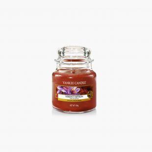 Vibrant Saffron Bougies Jarres