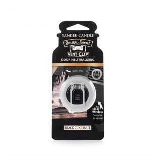 Black Coconut Smart Scent Vent Clip