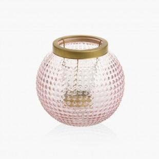 Lanterne pour votive pastel romance