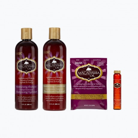 Hask Macadamia Oil - Gamme complète