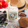 Coconut splash Bougies Jarres