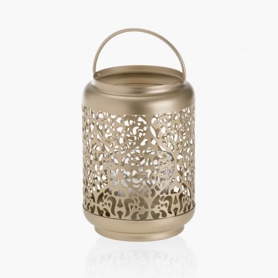 Photophore lanterne Champagne pearl