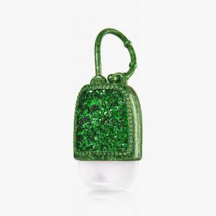Green Glitter Pocketbac Holder
