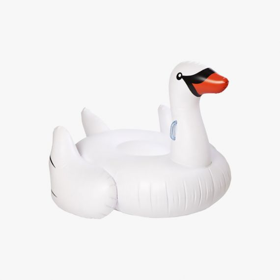 White Swan Pool Party Bouée gonflable