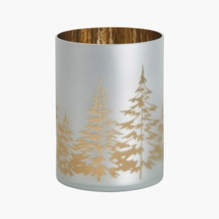 Porte jarre Winter trees Noel Yankee Candle Holiday sparkle