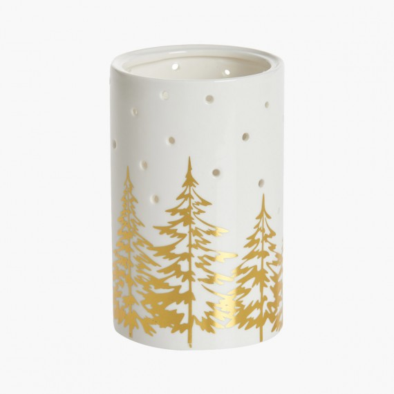 Photophore ajouré Winter trees Noel Yankee Candle Holiday sparkle