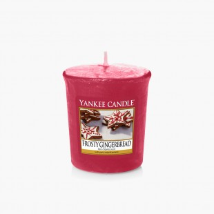 Frosty Gingerbread Votive Noël Yankee Candle Sparkle holiday