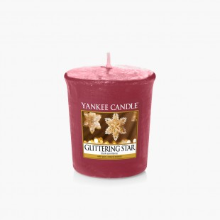 Glittering star Votive collection noel yankee candle sparkle holiday