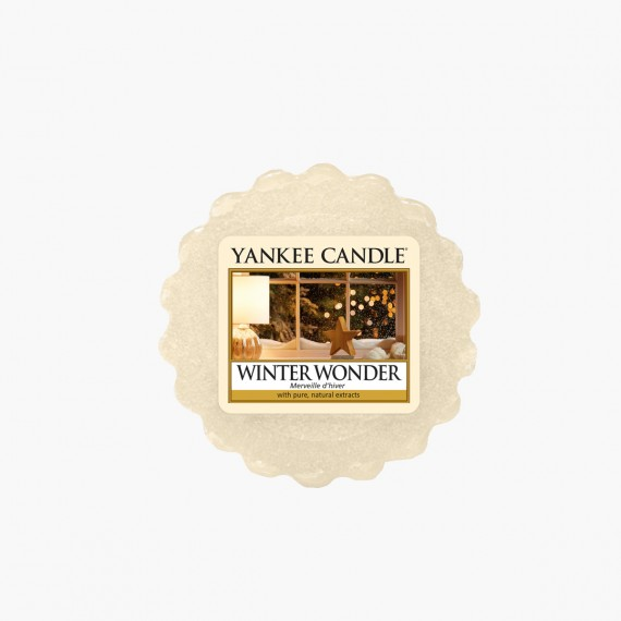 Winter wonder Tartelette noel yankee candle sparkle holiday