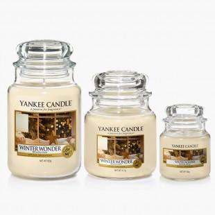 Winter wonder Bougies Jarres noel yankee candle sparkling holiday