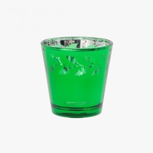 Photophore Votives Green Holly