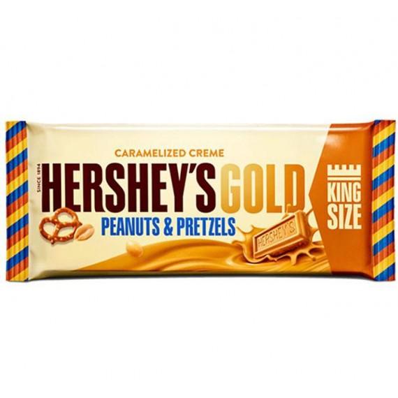 Hershey's Gold Peanuts & Pretzel